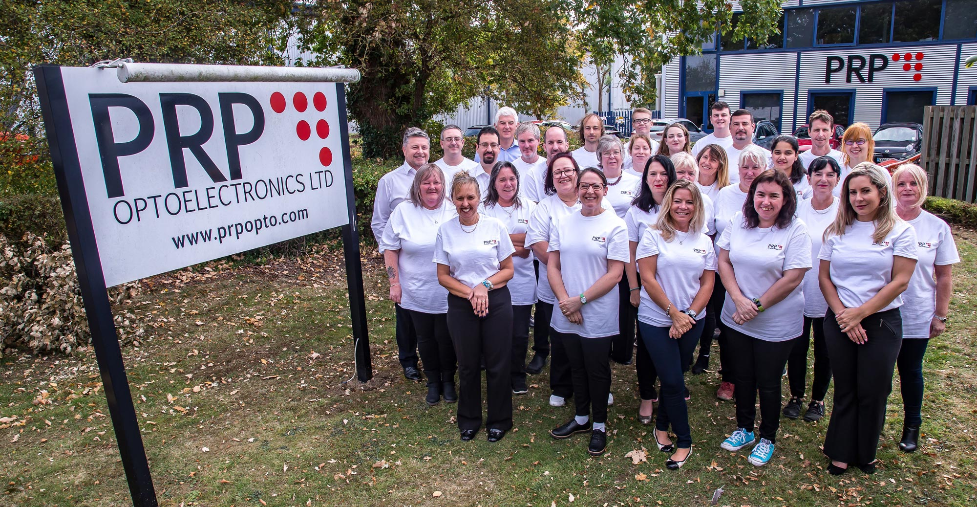 PRP opto staff photo - group shot