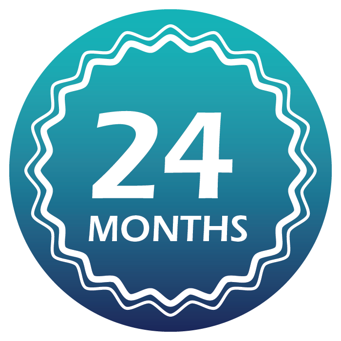 Icon for 24 month-warranty on Aegina water purification system