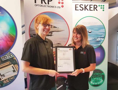 BSI – ISO 9001:2015 – PRP AWARDED BSI ACCREDITATION